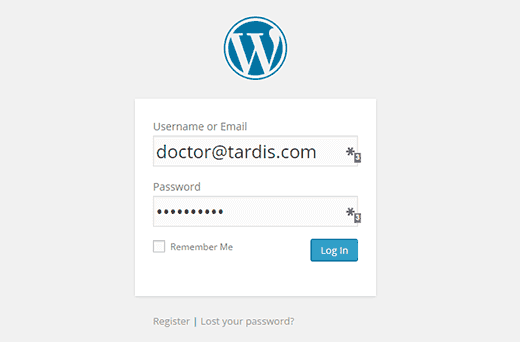 login-with-email-wp